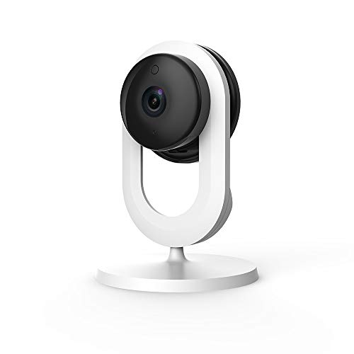 Blurams Home Lite, Smart AI Wireless Home Security Camera | Free Cloud Alert | w/ 2-Way Audio and Smart Human/Sound Detection, Person Alert, Night Vision | Works with Alexa