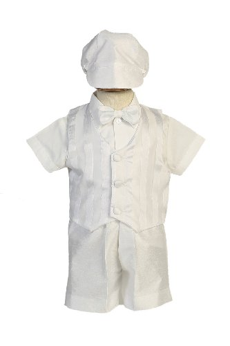 Shantung Striped Organza Matching Christening product image