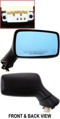 Kool Vue Power Mirror For 94-98 Audi Cabriolet 88-95 90 Quattro RH Heated 91 90 89 Rh Car