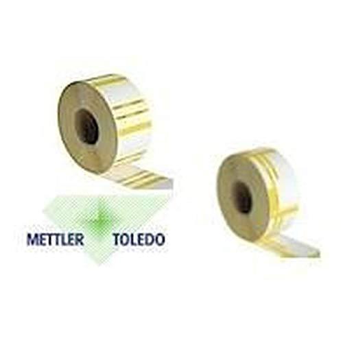 Thermoetiketten für Mettler Toledo 46, 8 x 62mm (20.400 Etiketten) 2-farbig: Amazon.es