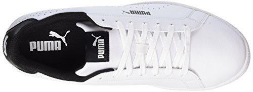 Unisex Perf Puma Sneaker Smash White Black Weiß Erwachsene AdTxqw76