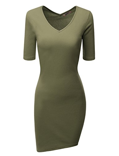 Buy belted pencil dress with ruched mesh - 2