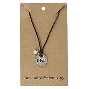 Kappa Kappa Gamma Alloy Necklace