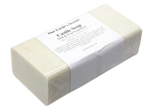Castile - 2 Lbs Melt and Pour Soap Base - Our Earth