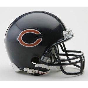 NFL Riddell Chicago Bears Mini Replica Helmet