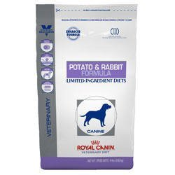 Image of Royal Canin Veterinary Diet Canine Hypoallergenic PR Potato & Rabbit Dry Dog Food 7.7 lb bag by Royal Canin Veterinary Diet [Pet Supplies]