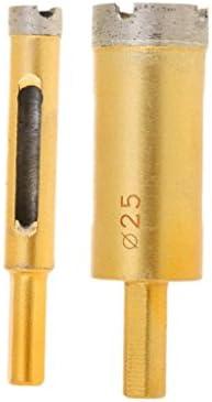 amleso ダイヤモンド ドリルビット 高品質 掘削ツール 12 25mm 使いやすい