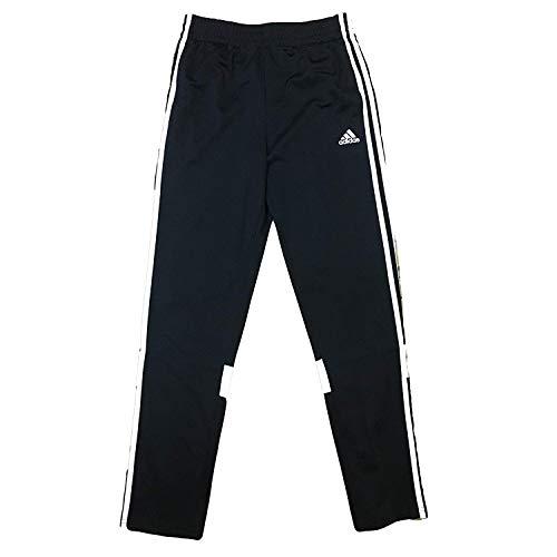(adidas Boys' 3 Stripes Youth Performance Midfielder Warm Up Track Jogger Pant (S (8/10), CC JC Black))