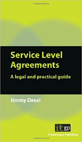 Buy Service Level Agreements: A Legal and Practical Guide