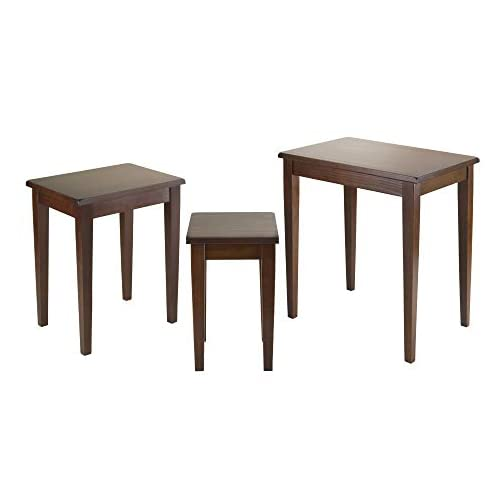 Winsome Wood Regalia Accent Table, Walnut