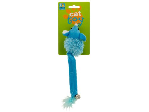 Mouse with bell cat toy - 48 Pack