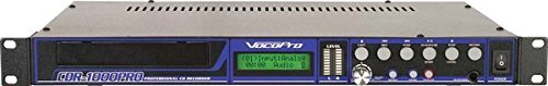 VocoPro CDR-1000 Pro Professional Single Space CD Recorder/ Player ()