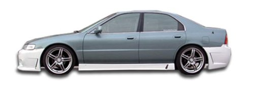 Duraflex Replacement for 1994-1997 Honda Accord B-2 Side Skirts Rocker Panels - 2 Piece