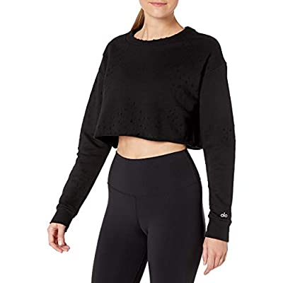 Alo Yoga Women's Fierce Pullover at Women's Clothing store
