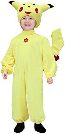 Disfraz Carnaval Pikachu macho 5anni amarillo: Amazon.es: Bebé