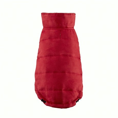 Friends Forever Leo Reversible Unisuede Coat Red S