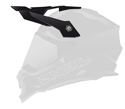 O'Neal Sierra II Unisex-Adult Spare Visor (Black, One Size)