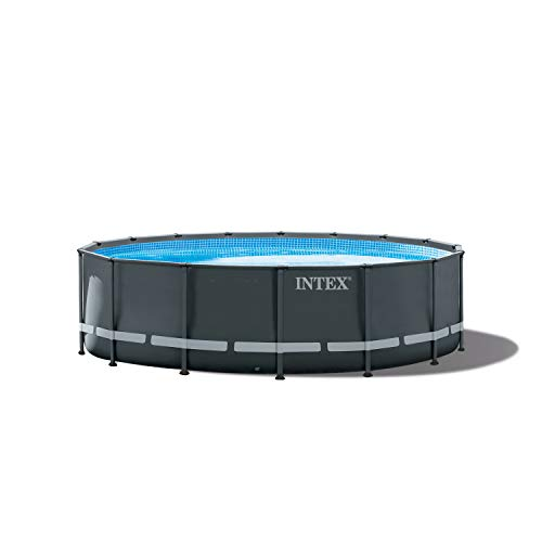 (Intex 16ft X 48in Ultra XTR Pool Set with Sand Filter Pump, Ladder, Ground Cloth & Pool Cover)