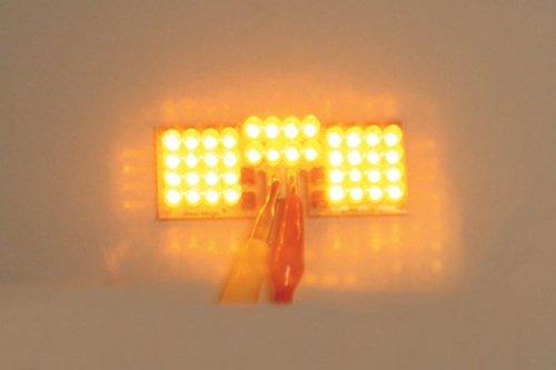 Custom Dynamics Front LED Fender Tip Board - Amber ()