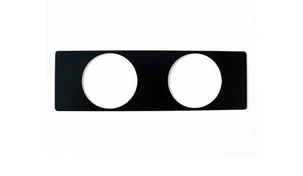 BMW E36 Instrumento enhalter Sostenedor de la exhibición Soporte para 2 Instrumentos adicionales VDO 318 320i 323 325i 328 M3 Turbo Cabrio Negro: Amazon.es: ...