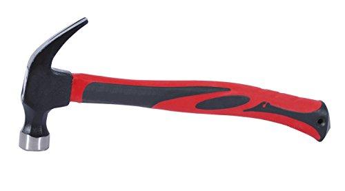 - INTERTOOL Rip-claw hammer 1 lb (450 g) w/fiberglass handle HT-0223