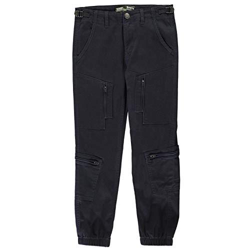 No Fear Boys Boiler Point Jeans Junior Trousers Pants Navy 13 (XL) (No Fear Combat Pants)