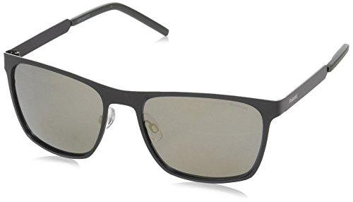 Sunglasses Polaroid Core Pld 2046 /S 0I46 Black Gold / LM gray gold mirror - Sunglasses 2046