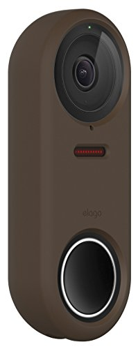 elago Nest Hello Case [Dark Brown] - [Full Cover Protection][Night Vision Compatible] [Durable Material] [UV Light Resistant][Easy Installation][Patent Pending]