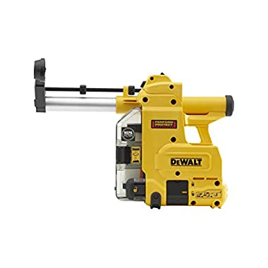 DEWALT D25304DH Cordless Onboard Dust Extractor for SDS-Plus Hammers with HEPA Filter-Perform and Protect Shield 7