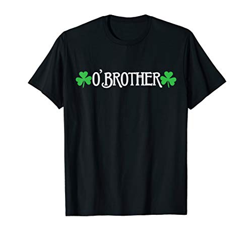 Funny St. Paddy Big Bro O'Brother Pregnancy Announcement Tee