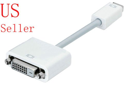 FYL Mini DVI to DVI Adapter Cable for OLD Macbook iMac Pro