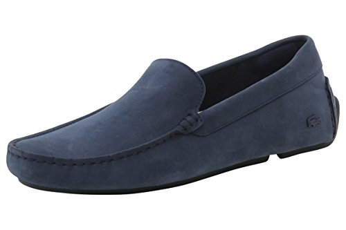 Lacoste Men's Piloter 316 1 Navy Loafers Shoes Sz: 9.5