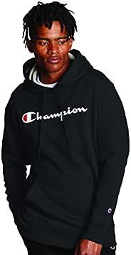 Champion Mens Graphic Powerblend Fleece Pullover Hoodie