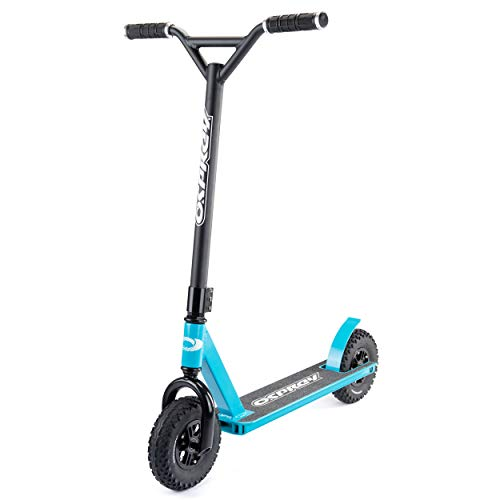 Osprey Dirt Scooter with Off Road All Terrain Pneumatic Trail Tires and Aluminum Deck - Offroad Scooter for Adults or Kids - Multiple Colors