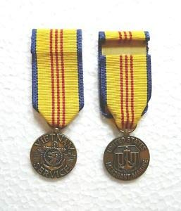 US Agency, Department, Merchant Marine Vietnam Service Medal, Miniature by HighQ Store