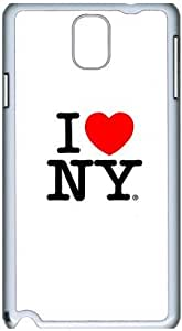 Fashion Designed Pattern Protevtive Hard Back Case Cover for Samsung Galaxy Note3 N9000 I Love NY