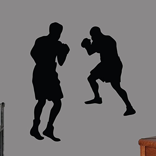 Wall Stickers Boxers for Gym Home décor ()