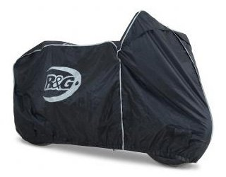 R&G Waterproof Motorcycle Cover For Supersport & Naked Bikes | Black by R&G Racing