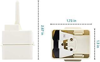 W10613606 - Repuesto de condensador y relé de arranque para ...