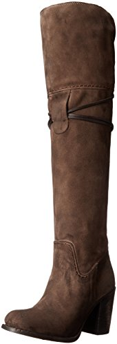 Freebird Womens Brock Riding Boot Grey Suede bMSMrWAK