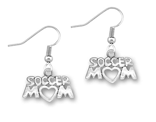 Soccer Mom Earrings, Soccer Mom Jewelry, Perfect Gift for Mom