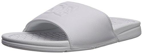DC Women's Bolsa SE Slide Sandal, White/White/White, 9 B US