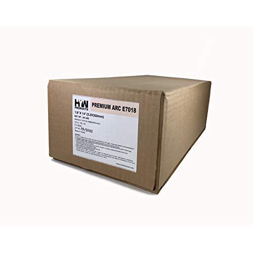 10 lbs x 6 boxes Premium Arc E7018 1/8