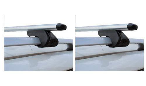 ab 2016 Dachbox VDPFL320 320Ltr schwarz gl/änzend Dachtr/äger CRV107 kompatibel mit Volkswagen Tiguan 5 T/ürer