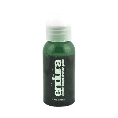1 oz Green Endura Ink Alcohol Based Airbrush (Airbrush Body Art Halloween)