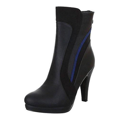 Ital-Design - botas Mujer negro