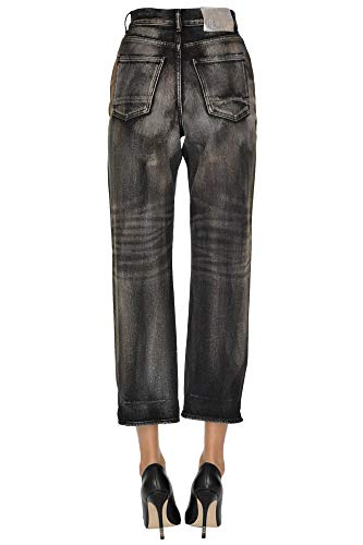 Goose Mujer Negro Jeans Algodon Golden Ezgl041036 Tvqwd