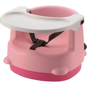 『出産祝 プレゼントなどに人気の商品』  リッチェル 2WAYごきげんチェア ライトピンク