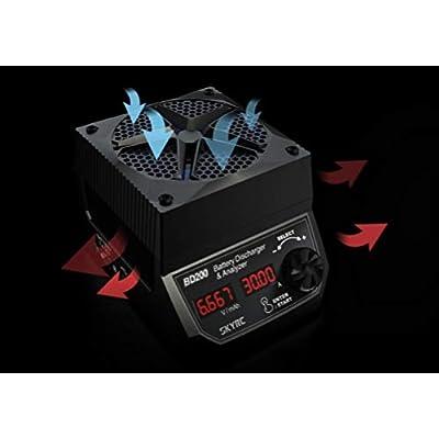SKYRC BD200 (30Amps, 200Watts): LiPo, LiHV, LiIon, Life, NiCd, NiMh, Pb High Powered Battery Discharger SK-600123 SK600123 SKY600123 RCESKYBD200: Toys & Games