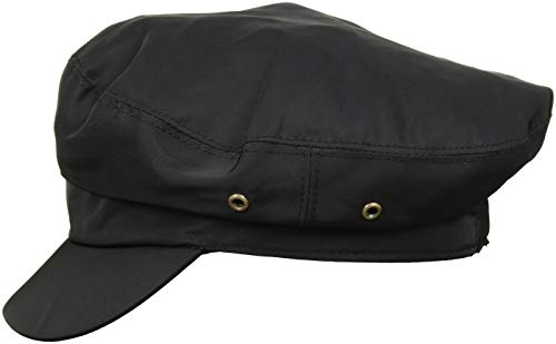 Betmar Women's Lieutenant RAIN Cap, Black, -